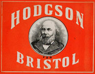 Promotional electioneering card from the late-nineteenth-century Bristol