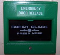 example of a emergency 'break glass'
