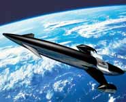 An image of the SKYLON space plane