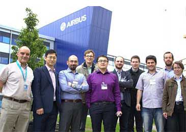 ACCIS researchers at Airbus