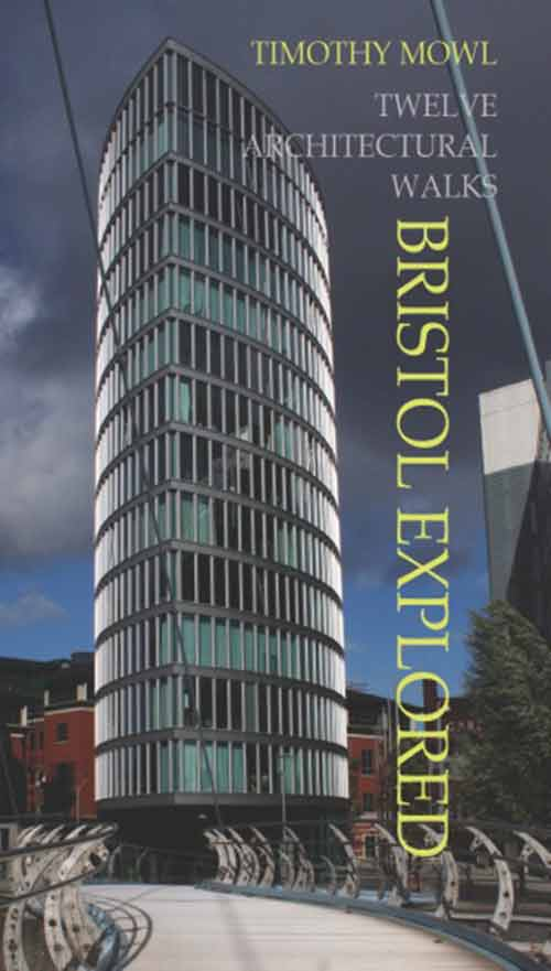 Image showing the cover of Bristol Explored featuring the Eye on Glass Wharf