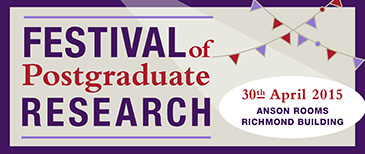 Festival of Postgraduate Research branding