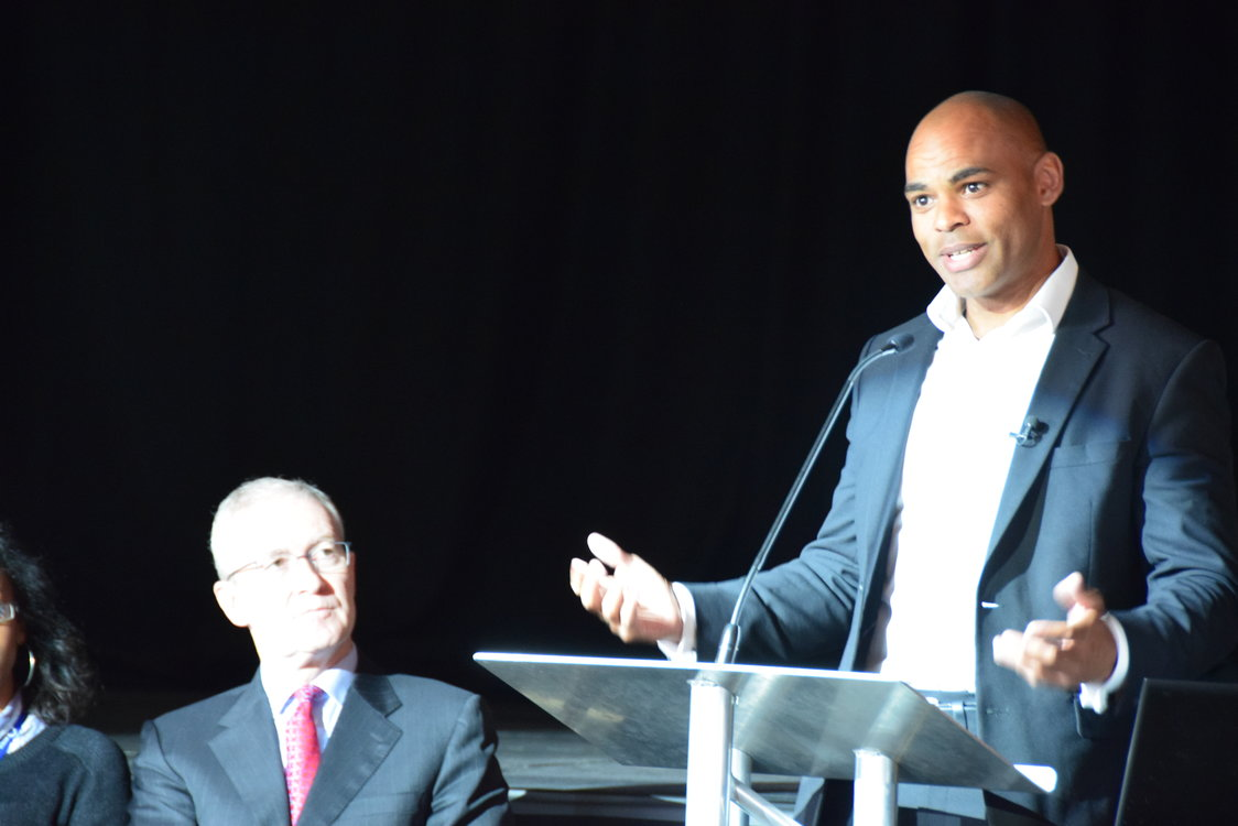 Mayor Marvin Rees attends UoB